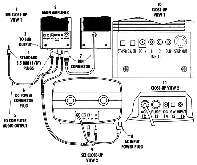computer speaker wiring diagram cpu wiring guide catalystengine org