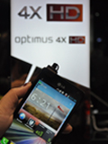Hands-on: LG Optimus 4X HD & LG Optimus 3D Max