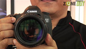 Canon Launches the 5D Mark III in Singapore