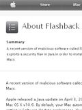 Apple Working Towards Flashback Solution