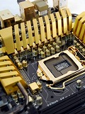 Preview: ECS Z77H2-AX - Gilding the New Intel Z77 in Gold
