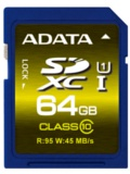 ADATA Launches Premier Pro SDHC & SDXC Cards Featuring UHS-I Technology