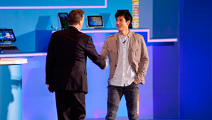 Wang Leehom Demonstrates Mandarin Speech Recognition on Next Gen Ultrabook