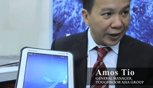 CommunicAsia 2012: Chatting about the Panasonic ToughPad A1