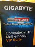 Gigabyte's Motherboard Showcase at Computex 2012