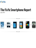 FixYa Announces First-Ever Report on Consumer Issues Across Popular Smartphones