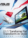 New Transformers Rolling Out - ASUS Transformer Pad Infinity and TF300 Launch