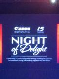 Night of Delight - Canon Marks 15th Year in the Philippines