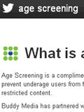Twitter Introduces Age Screening for Brands