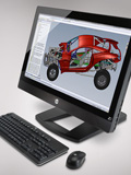 HP Z1 All-in-One Workstation - Stylish, Upgradeable Productivity Machine