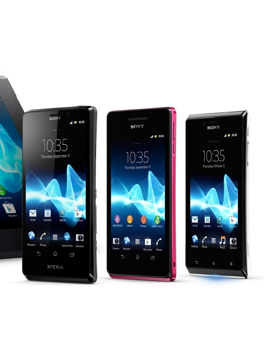 Sony Reveals First Xperia Tablet and Three Xperia Smartphones at IFA 2012
