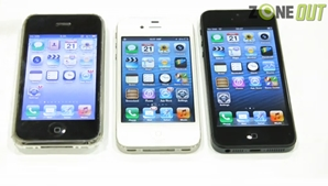 Hands-on with the Apple iPhone 5