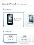 Apple iPhone 5 Up for Pre-Order in Singapore