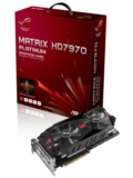ASUS ROG Matrix HD 7970 GHz Edition Graphics Card Launched