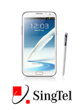 SingTel Price Plans for Samsung Galaxy Note II Announced