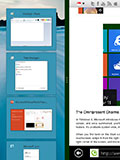 Windows 8: Common Touch Gestures, Multi-tasking & On-screen Keyboards