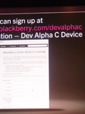 BlackBerry 10 Dev Alpha C QWERTY Device Announced for Developers