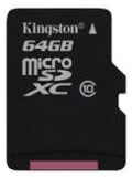 Kingston microSDXC 64GB Class 10 Memory Card Launched