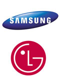 Samsung and LG Grow Flat-Panel TV Revenues