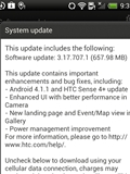 HTC Rolls Out Android 4.1.1 Jelly Bean and Sense 4+ Update for One XL