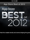 Apple Unveils Its 2012 App Store Best of List