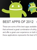 Google Lists Best Android Apps of 2012