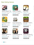 Holiday Sales of Games on Google Play Store