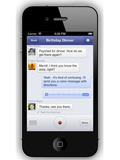 Facebook Adds Voice Messaging Feature to Messenger App