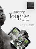 Corning to Showcase Gorilla Glass 3 at CES 2013