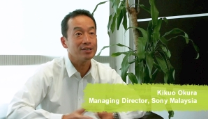 Interview with Kikuo Okura, Managing Director of Sony Malaysia