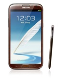 Amber Brown Samsung Galaxy Note II to be Available in Singapore from 30 March