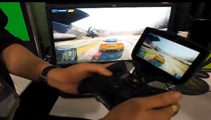 More NVIDIA Project Shield Hands-on Demos