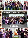 U Mobile Rewards Female Employees in Conjunction with International Women's Day