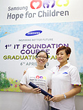 Underprivileged Children Graduate from Samsung's Inspiring Better Futures Program