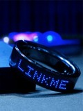 LinkMe LED Smart Bracelet Shows SMS and Updates Across Your Wrist