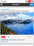 Google Improves Look and Feel of Google+ Mobile Site