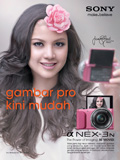 Lisa Surihani Now the Face of Sony Cameras