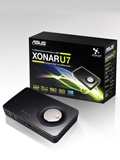 ASUS Xonar U7 USB Sound Card and Headphone Amplifer to be Available End May