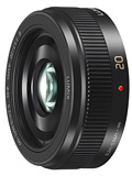 Panasonic Announces New Lumix G 20mm f/1.7 II Lens for Micro Four Thirds
