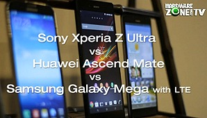First Looks: Sony Xperia Z Ultra vs. Other Phablets