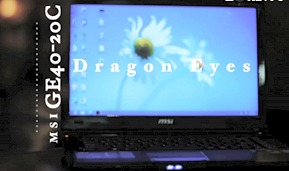 Demo: MSI GE40 2OC Dragon Eyes Gaming Notebook