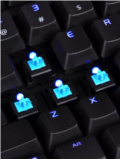 Tt eSPORTS Shows Off Its Poseidon Illuminated Mechanical Gaming Keyboard