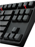CM Storm QuickFire Stealth Gaming Keyboard Sports Front Printed Keys