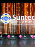 LG Takes Over Suntec's Entrance with An Imposing Digital Wall of 664 Screens