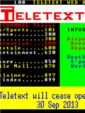 Goodbye, Teletext