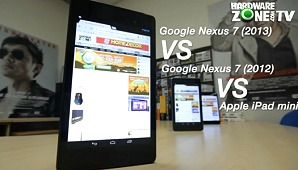 Google Nexus 7 (2013) vs Google Nexus 7 (2012) vs Apple iPad mini