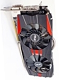 ASUS Radeon R9 280X DirectCU II TOP 3GB GDDR5 (R9280X-DC2T-3GD5)