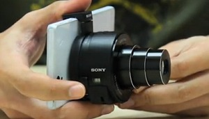 Demo: Sony Cyber-shot DSC-QX10 Lens-style Camera