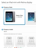 iPad Mini with Retina Display Available for Purchase on Apple Online Store