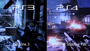 Sony PS3 vs. PS4 - Killzone Graphics Comparison